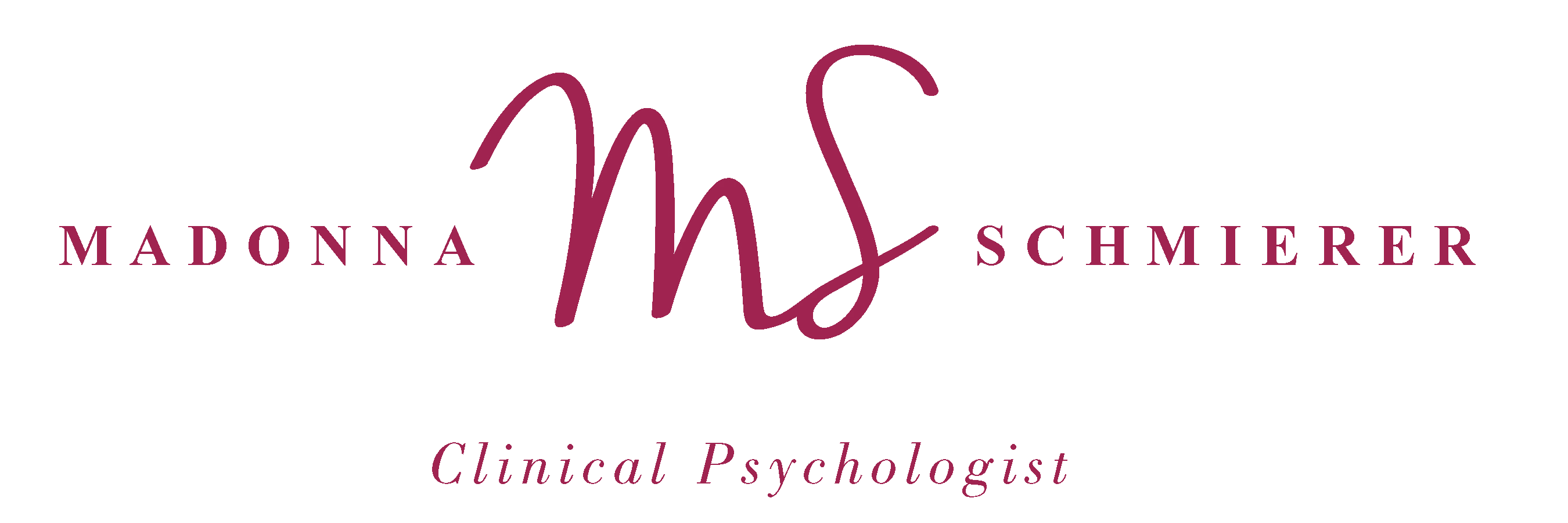 Madonna Schmierer Clinical Psychologist Logo